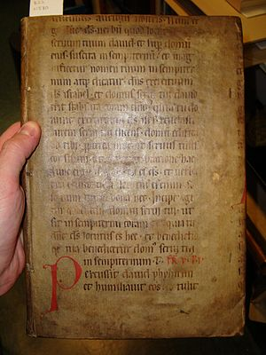 Fragmentology (manuscripts) - Image: Flickr Yale Law Library AL 141 H7 B22 1580 1