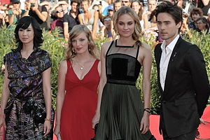 Mr. Nobody (film) - The cast at the premiere for the film in September 2009 (left to right): Linh Dan Pham, Sarah Polley, Diane Kruger, and Jared Leto