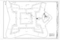 Floor Plan - Castillo de San Marcos, 1 Castillo Drive, Saint Augustine, St. Johns County, FL HABS FLA,55-SAUG,1- (sheet 2 of 11).png