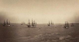 Flotte française en rade de Brest