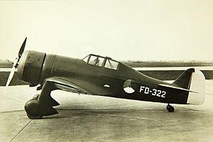 Fokker D.XXI - Fokker D.XXI Prototype