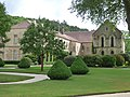 Fontenay Abbey - The Seguin Gallery and The Jail House (35664665482).jpg