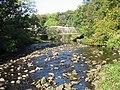 Footbridge, River Garnock - geograph.org.uk - 607534.jpg
