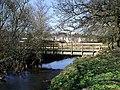 Footbridge over Luggie Water - geograph.org.uk - 1801599.jpg