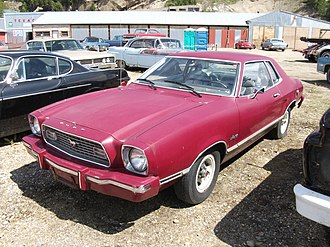 Ford Mustang (second generation) - 1974 Mustang II hardtop coupe