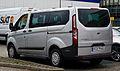 Ford Tourneo Custom Kombi 2.2 TDCi Trend (VII) – Heckansicht, 28. Juli 2013, Münster.jpg