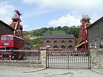 Former Lewis Merthyr Colliery lamproom and fan house