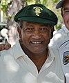 Former West Indian Test Captain Alvin Kallicharran with Napa Valley CC member Jack Evanko (Kallicharran cropped).JPG