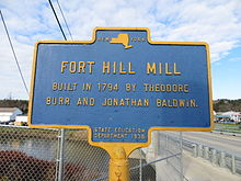 Fort Hill mill, Oxford, NY