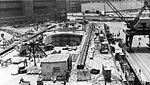 Forward flight deck of USS Intrepid (CVS-11) during 1965 overhaul.jpg