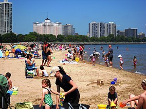 Foster Beach, Chicago, IL USA