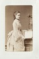 Fotografiporträtt på kvinna - Hallwylska museet - 107638.tif