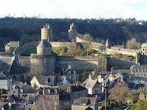 Château de Fougères - Image: Fougeres chateau