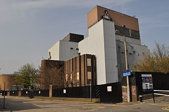 McEwan's - The Fountain Brewery Bottling Plant, demolished in 2011