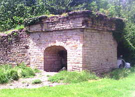 The lime kiln in Marcilly-d'Azergues