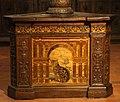 Fra raffaele da verona, badalone coro intarsiato di monte oliveto maggiore, 1520, 02.JPG