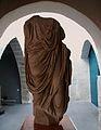 Fragment d'escultura de personatge togat, Museu Històric de Sagunt.JPG