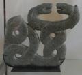 Fragment de plaque à anse avec deux serpents entrelacés, Musée du Louvre, AO 29142.png