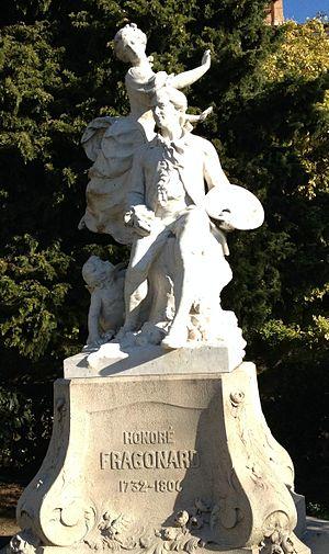 Jean-Honoré Fragonard - Statue of Fragonard in Grasse, his birthplace