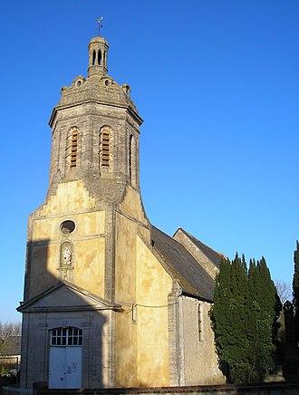 Condé-sur-Seulles - The church in Condé-sur-Seulles