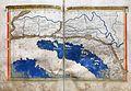 Francesco Berlinghieri, Geographia, incunabolo per niccolò di lorenzo, firenze 1482, 12 alpi, panonia, dalmazia 01.jpg