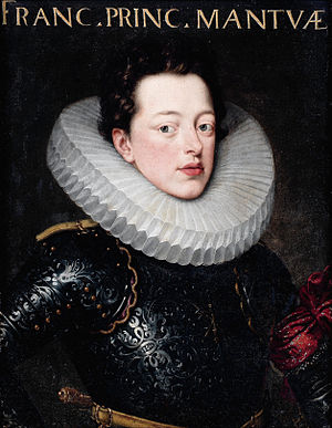 Claudio Monteverdi - Duke Francesco IV Gonzaga, by the studio of Frans Pourbus the Younger
