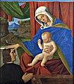 Francesco di Simone da Santacroce, Jomfru Maria med Kristusbarnet og en stifter, not dated, 0052NMK, Nivaagaards Malerisamling.jpg