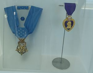 Frank D. Peregory - Peregory's Medal of Honor and Purple Heart