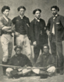 Frank Jardine with brothers and troopers.png