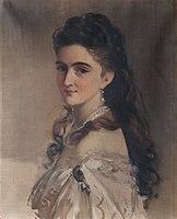 Franz Schrotzberg - Sidonie Schrotzberg, geb. Stohl, die zweite Gattin des Künstlers - 7197 - Österreichische Galerie Belvedere.jpg