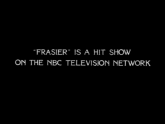 Brother from Another Series - The Frasier-style title card which featured in the episode.