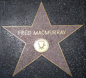 Fred MacMurray - Star on the Hollywood Walk of Fame at 6421 Hollywood Boulevard
