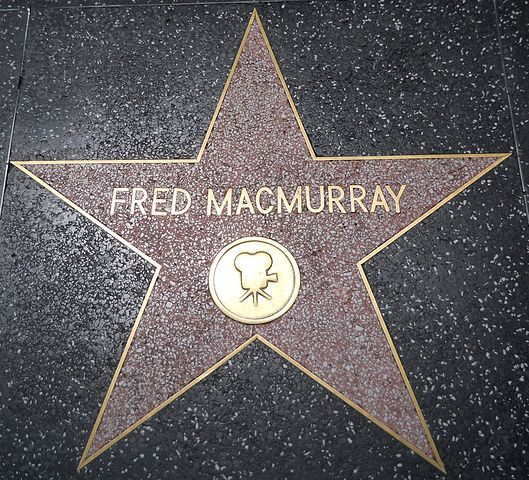 Fred MacMurray Star HWF.JPG