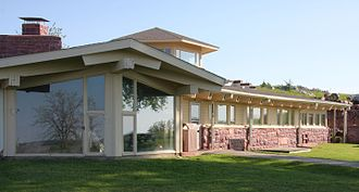 Blue Mounds State Park - The Frederick Manfred House