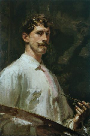Major General George B. McClellan - Frederick William MacMonnies, 1896 self-portrait