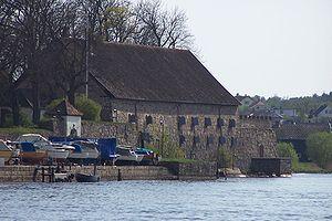 Fredrikstad Fortress - Image: Fredrikstad Detgrunnmuredeprovia nthus 02