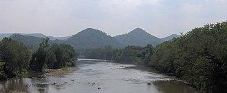 Del Rio, Tennessee - The French Broad River in Del Rio