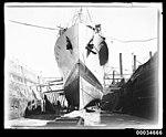 French warship BELLATRIX in Morts Dock in Balmain, 1930-1932 (7633483498).jpg