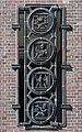 Friedhof Ohlsdorf (Hamburg-Ohlsdorf).Neues Krematorium.Bauschmuck.Kuöhl.Kreisornamente.6.Nordflügel.Mitte.29622.ajb.jpg