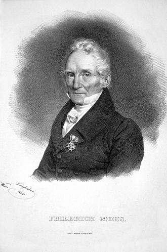 Friedrich Mohs - Friedrich Mohs, 1832
