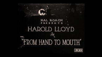 File:From Hand to Mouth (1919).webm