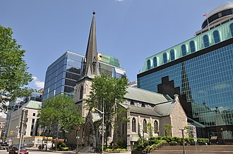Downtown Ottawa - St. Andrew's Presbyterian Church is one of several churches located in Downtown Ottawa.