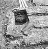 fundering van het traptorentje van de gothische toren gezien naar het oosten - grave - 20083996 - rce