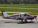 G-BBMB Robin DR400 (26059352273).jpg