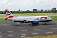 G-EUOF - A319 - British Airways