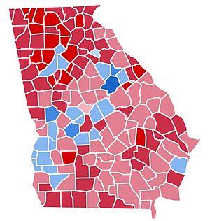 United States presidential election in Georgia, 1988 - Image: GA1988