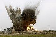 GBU-38 munition explosions in Iraq