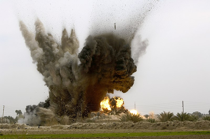 GBU-38 munition explosions in Iraq.jpg