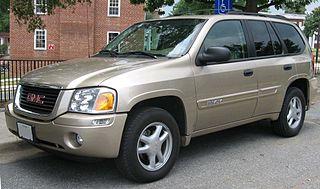 GMC Envoy American mid-size sport utility vehicle