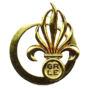 Foreign Legion Recruiting Group - Image: GRLE béret